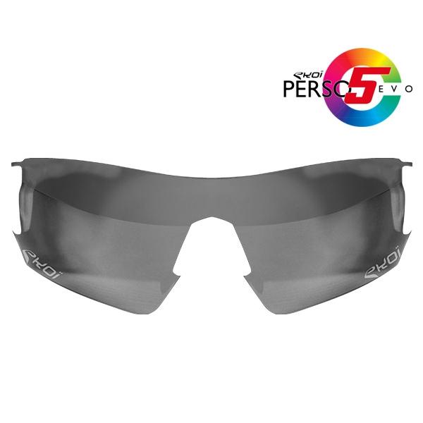 Glas PERSOEVO 5 Selbsttönend (Photochrom) Grau Kat 1 - 2