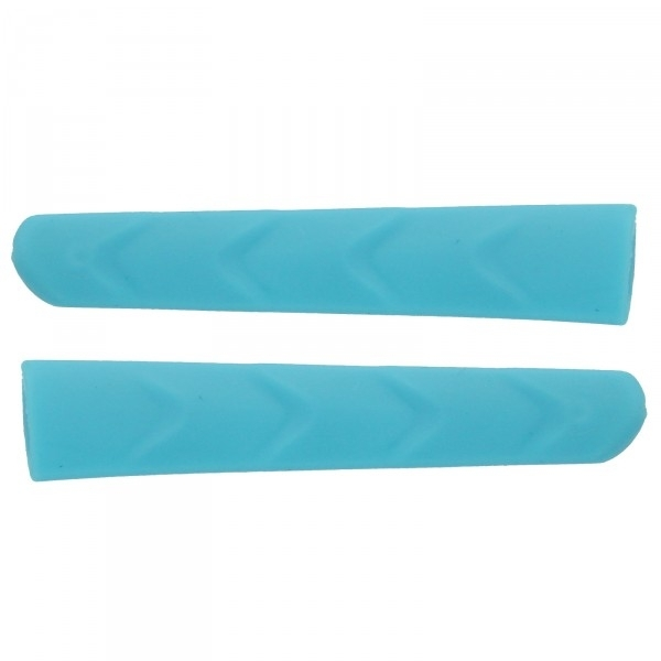 Twin-pack blue temple gripper (left & right) replacements for EKOI PERSOEVO sunglasses