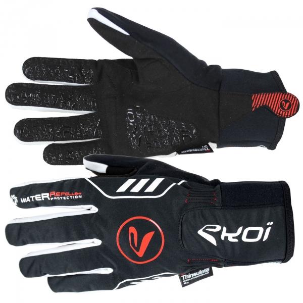 EKOI ALLOY black winter cycling gloves