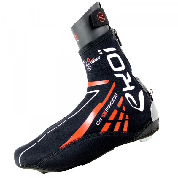 EKOI C3 Ice 4MM black neoprene overshoes