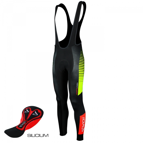 EKOI PERFOLINEA bibtights 2016 Gel Neon Yellow