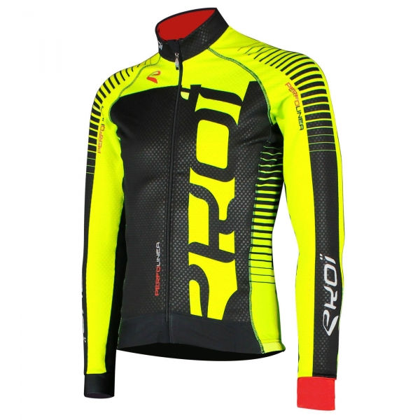 Thermal jacket EKOI PERFOLINEA 2016 FLASH Neon Yellow
