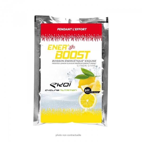 Saszetka Ener'Boost o smaku mrożonej cytryny