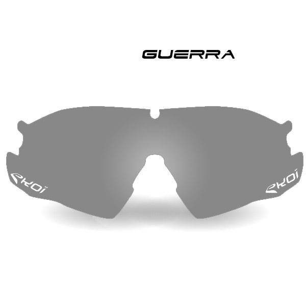 Szare szkła fotochromowe GUERRA kat. 1-3