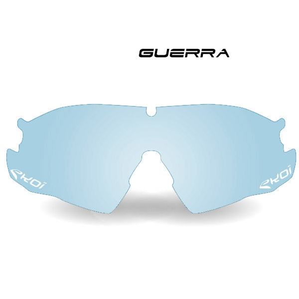 EKOI GUERRA photochromic blue cat. 1-2 lens