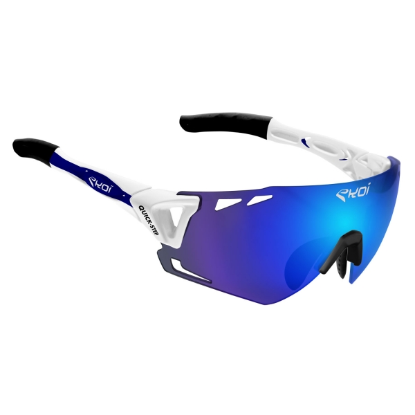 EKOI Limited Edition QUICK STEP REVO blue PERSOEVO6 glasses