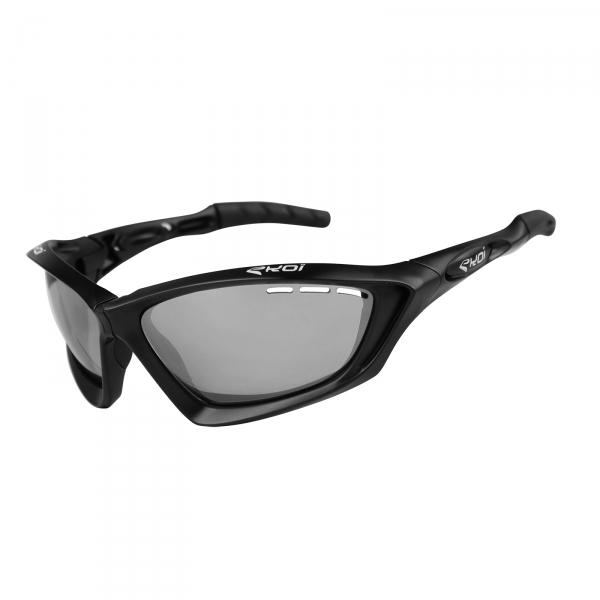 EKOI Fit First matt black sunglasses photochromic grey category 1-2 lens