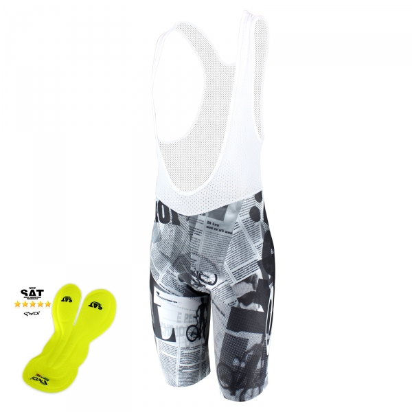EKOI Gazetta Limited Edition bib short with NSAT insert