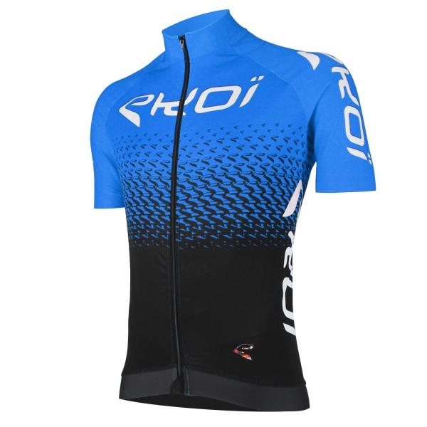 Fietsshirt EKOI Perfolinea3 Blauw