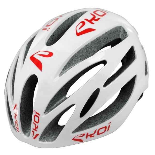 EKOI CORSA EVO White / Red helmet