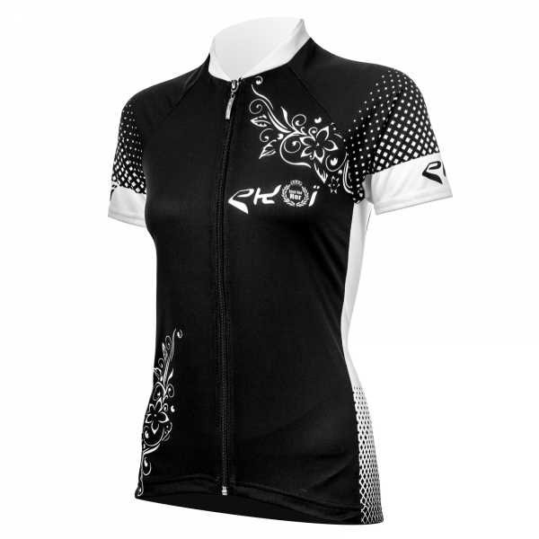 EKOI JUST FOR HER 2017 ladies black short sleeve jersey