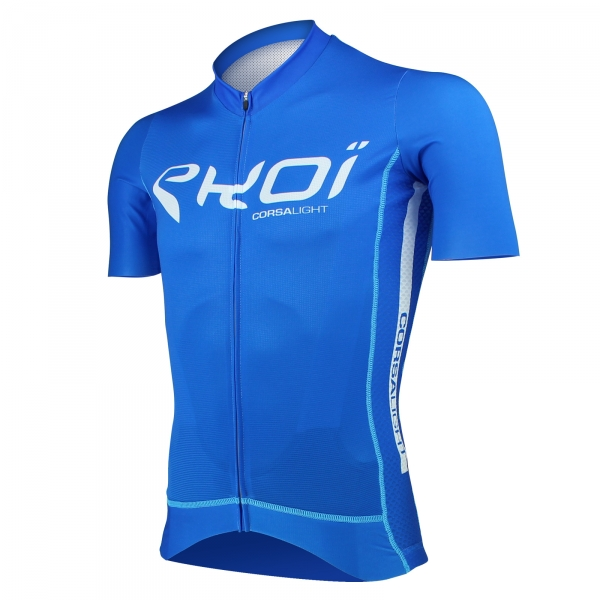 EKOI Corsa Light Blue short sleeve jersey