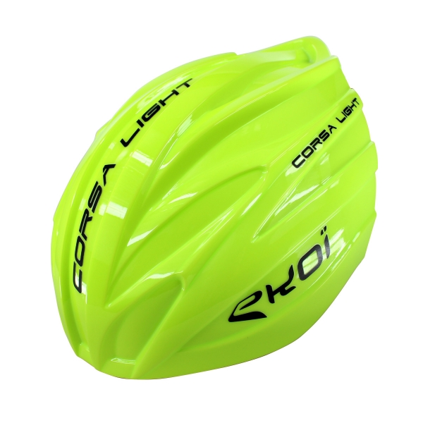 Yellow fluo removable aero shell for the EKOI CORSA LIGHT 2017 helmet