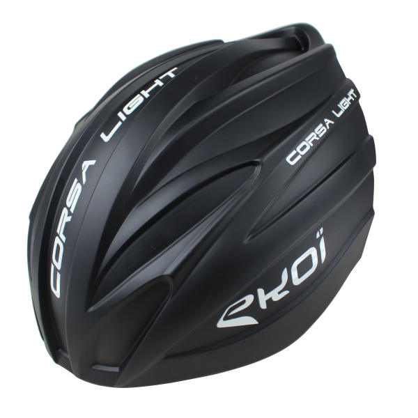 Matt black removable aero shell for the EKOI CORSA LIGHT 2017 helmet