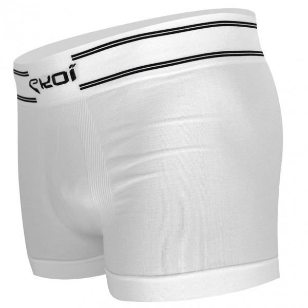 EKOI RUN White Boxer tight short