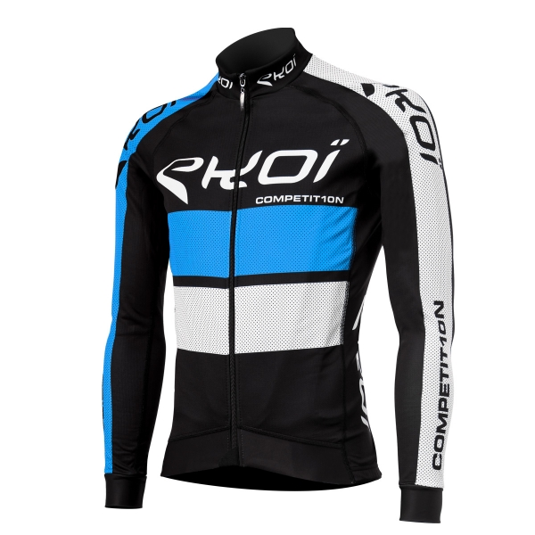 Czarno-niebieska zimowa koszulka EKOI COMP10