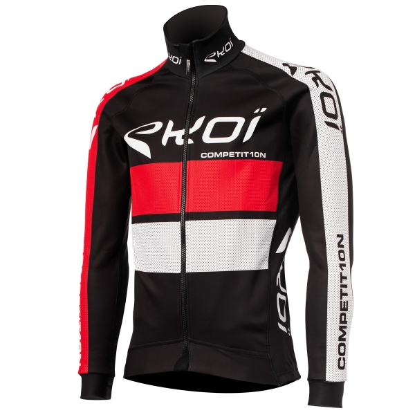 EKOI COMP10 Black / Red thermal winter jacket