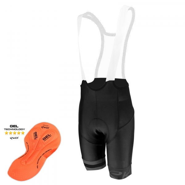 EKOI Corsa Light Ghost GEL bib short
