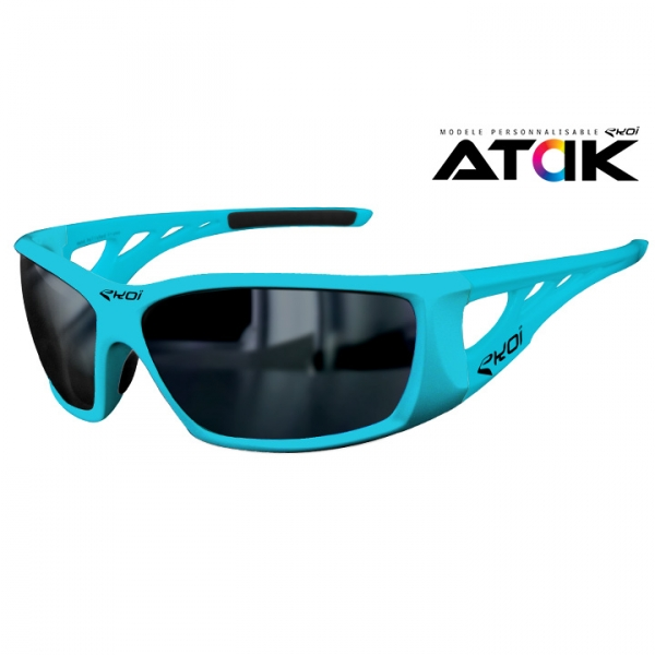 EKOI Atak Limited Edition Blue Mirror sunglasses