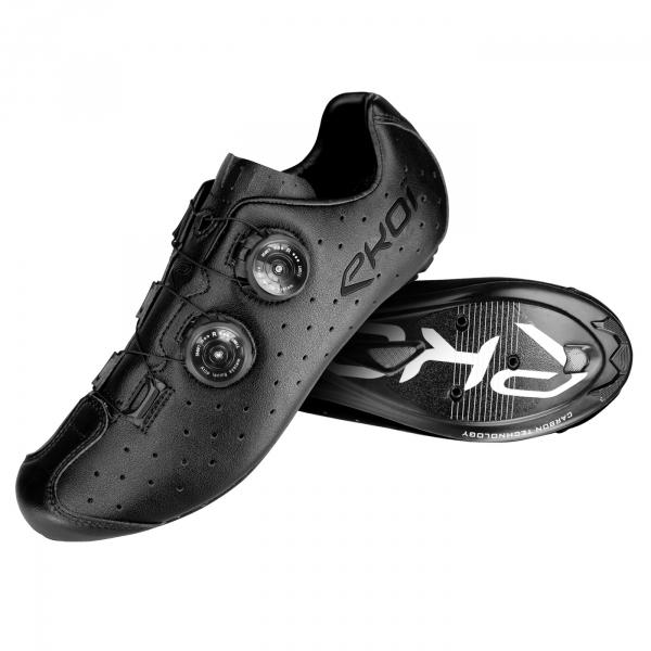Chaussures EKOI R4 Noir Blanc