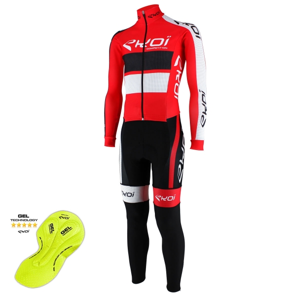 EKOI Red Comp10 winter aero skin suit