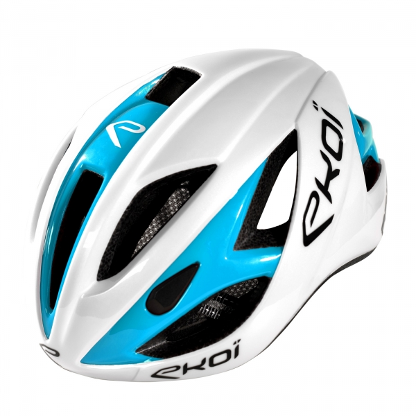 Helm EKOI AR13 Weiss Blau