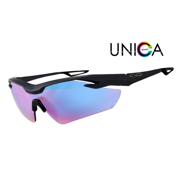UNICA EKOI LTD Noir Mat Cat1 Bleu