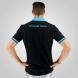Polo été EKOI Cycling Team Noir Turquoise