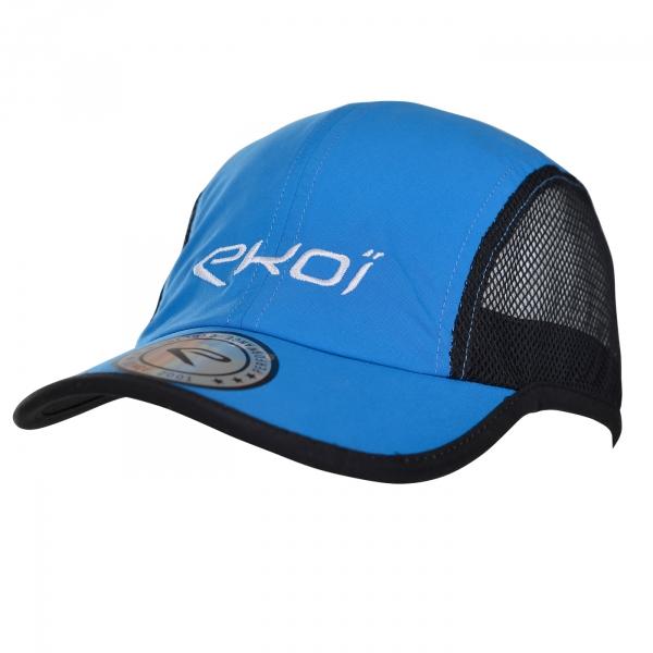 Casquette EKOI RUN Runner Cap Bleu
