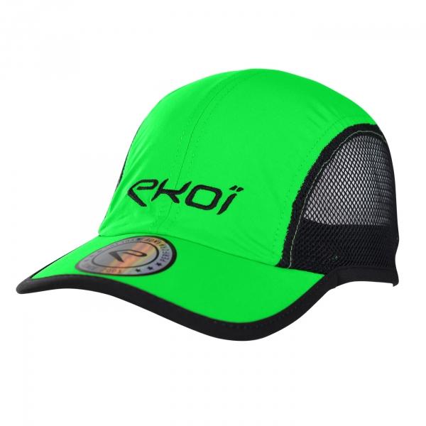 Kask EKOI RUN Runner Cap zielony odblaskowy