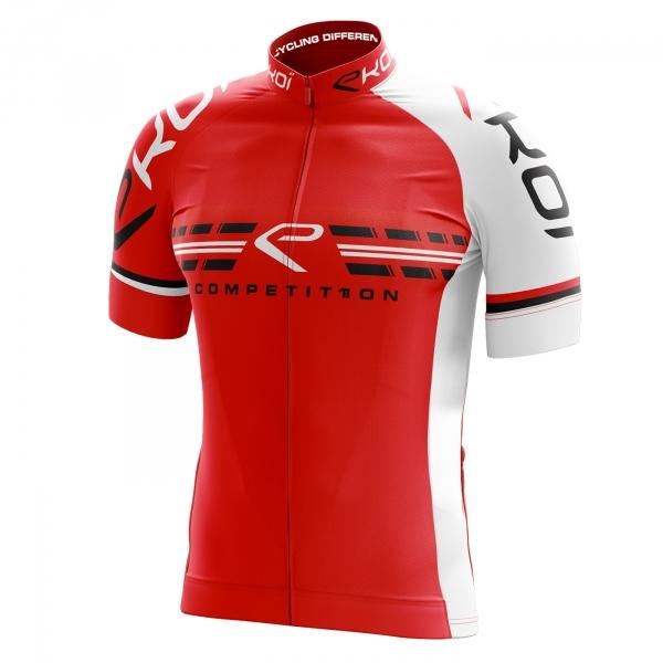 Koszulka EKOI COMP11 czerwono-biała