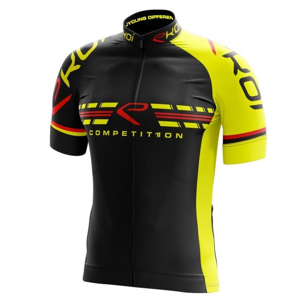Koszulka EKOI COMP11 Czarno-żółta