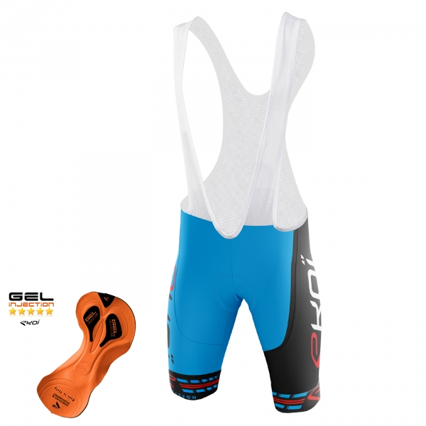 EKOI COMP11 Gel Injection Blue / Black bib short