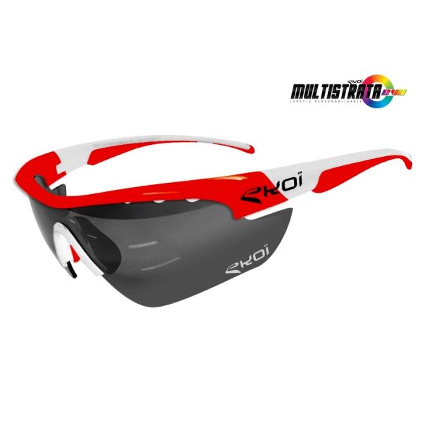 Okulary Multistrata EKOI LTD Czerwone XL PH