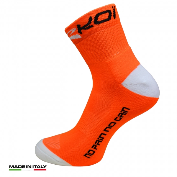 Chaussettes EKOI RUN Comp Orange