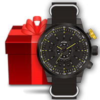 1 AVIATOR WATCH free with the purchase of 2 WINTER HEXA items